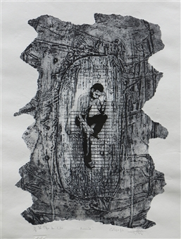 Juan Salazar - From the Series Ausencia 1 Collograph, Prints