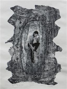 Juan Salazar - From the Series Ausencia 1 Collograph, Prints