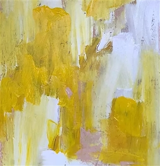 Laura Pretto Vargas - Yellow I Acrylic on Canvas, Paintings