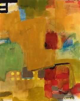 Paul Kittlaus - Untitled #206 Acrylic on Canvas, Paintings