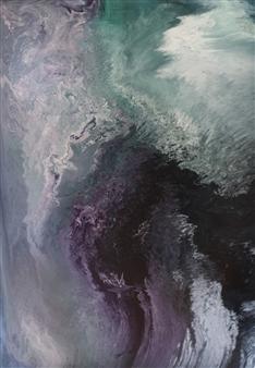 Alla Struchaieva - Soul of Azori I Oil on Canvas, Paintings