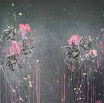 Jeannette Dannehl - Bonitas #3 Acrylic on Linen, Paintings