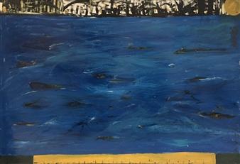 Ana Ingham - Endless Ocean Oil on Board, Paintings