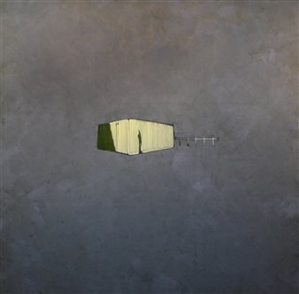 Akihito Izumi - Index of Memories-2 Oil on Canvas, Paintings