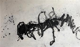 Marek Wasylewicz - Rev 11 Oil on Fiber Board, Paintings