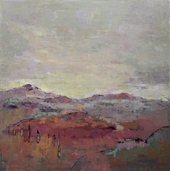 Becky Sungja Kim - Be Still Oil on Linen, Paintings
