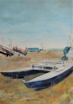 Rita Galambos - Marotta- Italy Acrylic on Canvas, Paintings