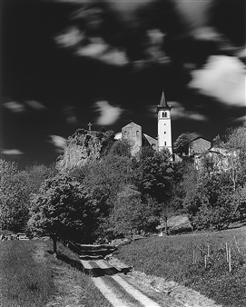 Antonio Biagiotti - Church and Clouds Photographic Print on Board, Photography