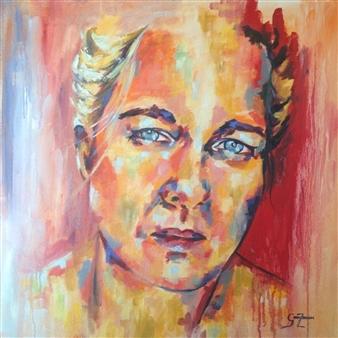Grady Zeeman - Being Enough Oil on Canvas, Paintings