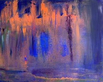 Jodi DeCrenza - Mystic Shadows Acrylic on Canvas, Paintings