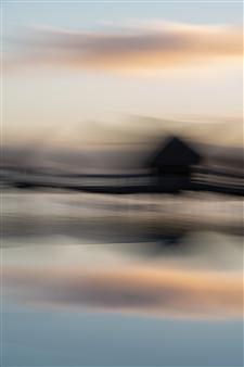 Renzo Sanchez-Silva - Overwater Bungalows Digital C-Print on Aluminum, Photography