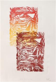 Marcela García Henríquez - Two Lithograph, Prints