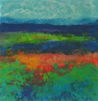 Pia Sjölin - Harvest Time Acrylic on Paper, Paintings