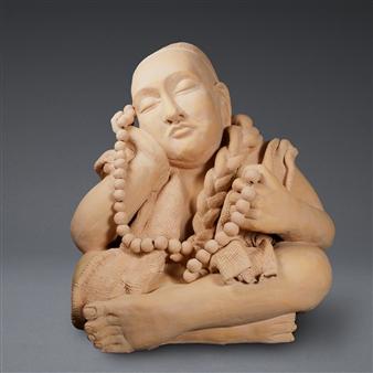 Susan Kadish - 4207 Stoneware, Sculpture