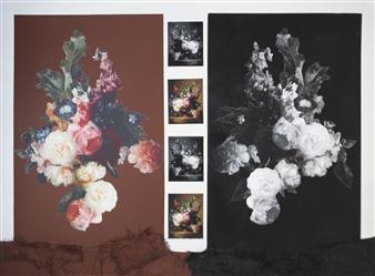 Pamela Bennett Ader - Mirror Image Mixed Media on Canvas, Mixed Media