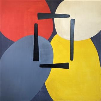 Mariela Soldano - Convivencias Acrylic on Canvas, Paintings