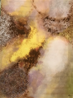Mona Taqi - Light from the Past Acrylic on Canvas, Paintings