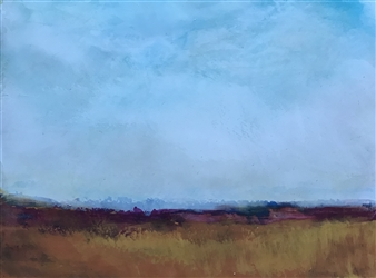 Pia Sjölin - Time for Harvest Acrylic on Canvas Board, Paintings