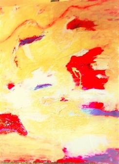 Clea von Döhren - Traces Acrylic on Canvas, Paintings