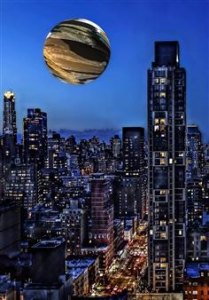 Shifra Levyathan - Floating Earth Digital C-Print, Photography