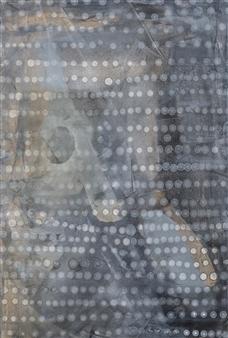 Graciela Garza - Balance 3 Acrylic & Oil on Canvas, Paintings