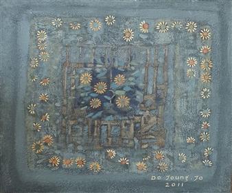 Soilart Jo-DoJoong - Wildflower Soil on Canvas, Paintings