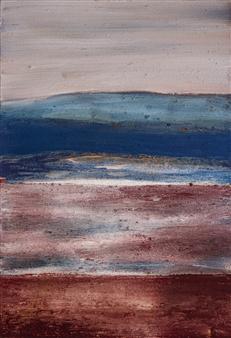 Israel Feldmann - Hovering Pigment on Canvas, Paintings