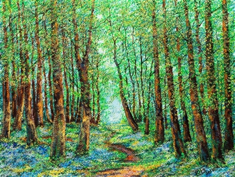 Uriy Bykov - Grove Acrylic on Canvas, Paintings