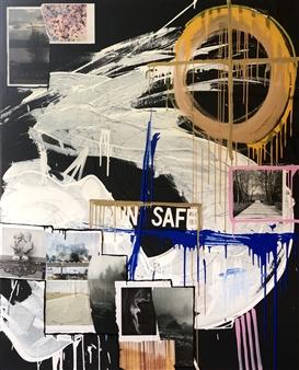 William Atkinson - Cisco Dream Mixed Media on Canvas, Mixed Media