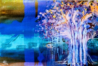 PJ Riley - FOREST KINGS: Ghost Tree Giclee Print on Paper, Prints