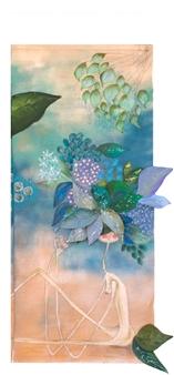 Mar De Redin - La Suerte en el Culo_D2 Acrylic & Mixed Media on Linen Canvas, Mixed Media