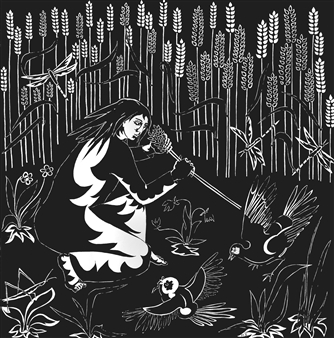 Marliese Scheller - Moisson Ink on Paper, Drawings