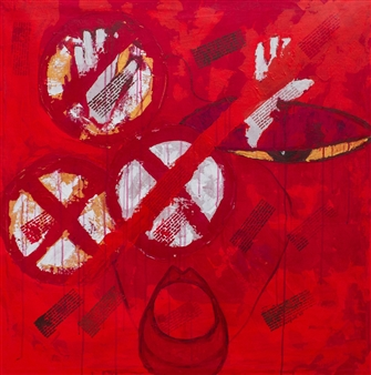 Doofan Kwaghhool - Stop 1 Acrylic on Canvas, Paintings
