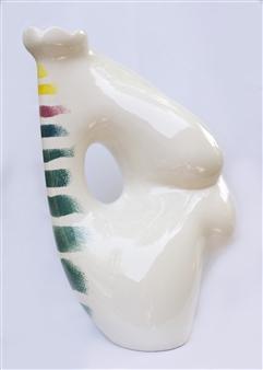 Nora Pineda - Blanca Ceramic, Sculpture