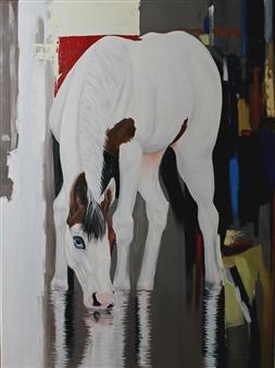 Mileidy Plata - Calm Oil on Canvas, Paintings