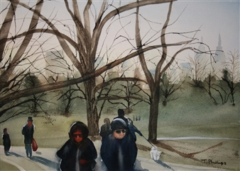 Tammy Phillips - The Life Watercolor on Paper, Paintings