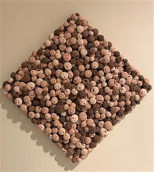 Sarah Shinhyo Kim - Before the Corona Clay & Mixed Media, Sculpture