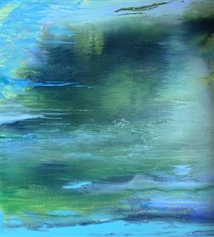 Jodi DeCrenza - Reflections Acrylic on Canvas, Paintings