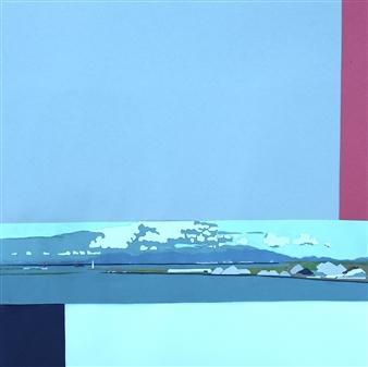 Martin Randall Joyce - Wakayama Waterfront Collage, Mixed Media