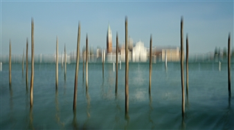 Gottfried Roemer - Venezia Basilica Di San Georgio Maggiore Photograph on Aluminum, Photography
