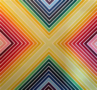 Jolie Dueñas - Prismatic Acrylic on Canvas, Paintings