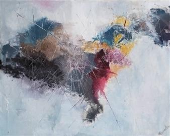 Rosalind Panda Dykla - Around the World Paintings, Paintings