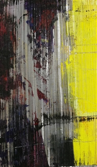 Vuce - Post Oil on Metal, Paintings