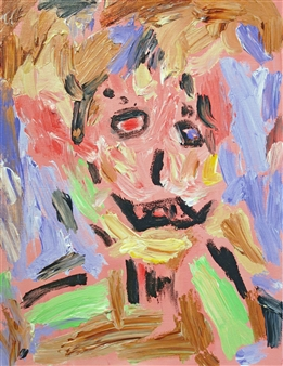 Ed Belbruno - Self-portrait Acrylic on Canvas, Paintings