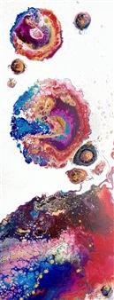 Angela Schiappa - Corona Mixed Media on Canvas, Mixed Media