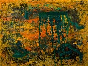 Kim Hinkson - Circle of Life Acrylic on Canvas, Paintings