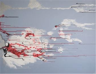 Barbara Wykrota - Sans titre 2010-1 Acrylic on Canvas, Paintings