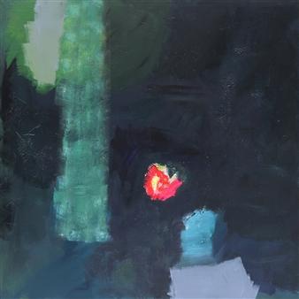 Gerlinde Amei Wöllmer - Hoffnung Acrylic & Gouache on Canvas, Paintings