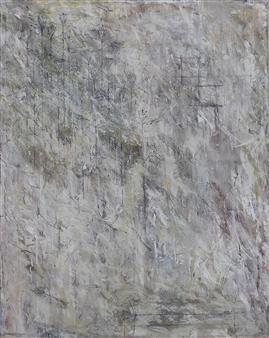 Vincent Donato - Pallor Mortis Mixed Media on Canvas, Mixed Media