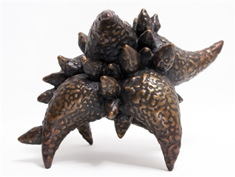 Sheetal Shaw - Drops of Boteh Bronze, Sculpture